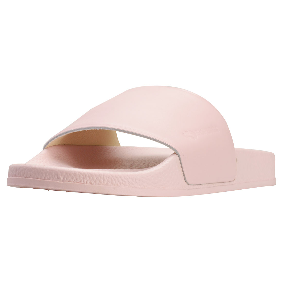 SUPERGA 1914 FGLU linea Donna Rosa Pelle Slide 6.5 UK